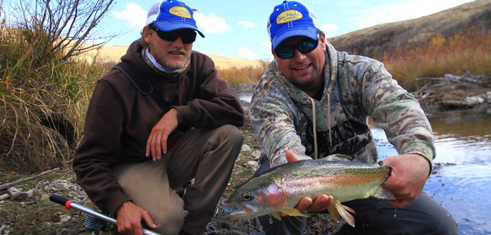 Wyoming Trout on the Dry Fly