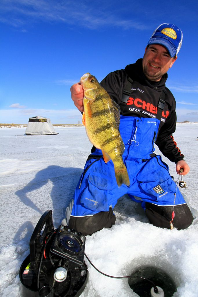 Ice Anglers are traveling to destination fisheries like never before.  The author Jason Mitchell highlights some of the regions top ice fishing destinations right now.