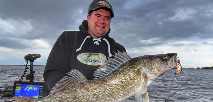 Shallow Crank Bites for Walleye