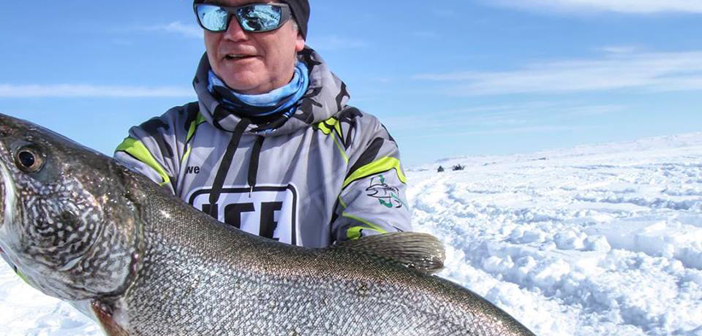Lake Trout Craziness on Fort Peck