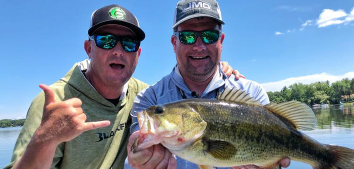 Bass Fishing New Lake with FLW Pro Chad Grigsby