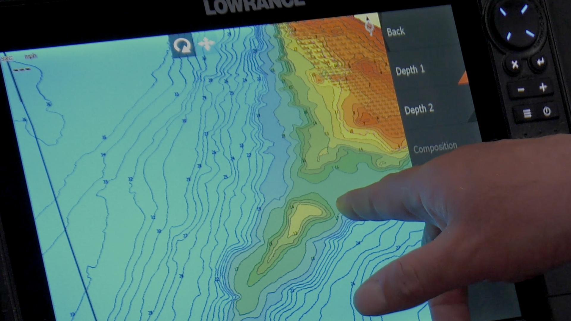 Lake Map for Spinner Fishing